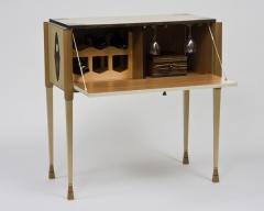 White Tulip Wine Cabinet